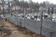Cmentarz - wymiana ogrodzenia