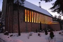 Kościół zimą 2017