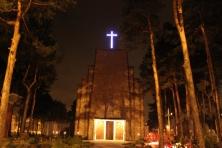 Wystrój świątyni – nowy krzyż