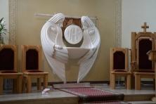 Prezentacja aranżacji nowego tabernakulum